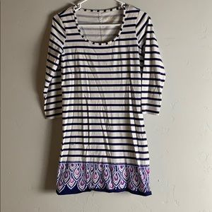 Lily Pulitzer 3/4 sleeve dress
